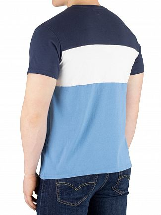 Levi's Dress Blue Colorblock T-Shirt