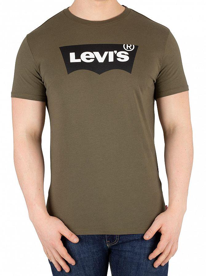Levi's Green Housemark Graphic T-Shirt