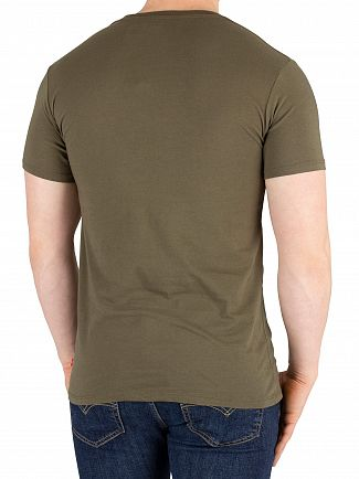 Levi's Green Housemark Graphic T-Shirt