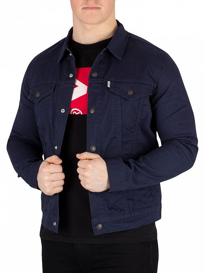 Levi's Navy Blazer The Trucker Jacket