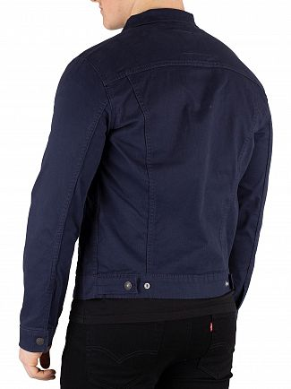 Levi's Navy Blazer The Trucker Jacket