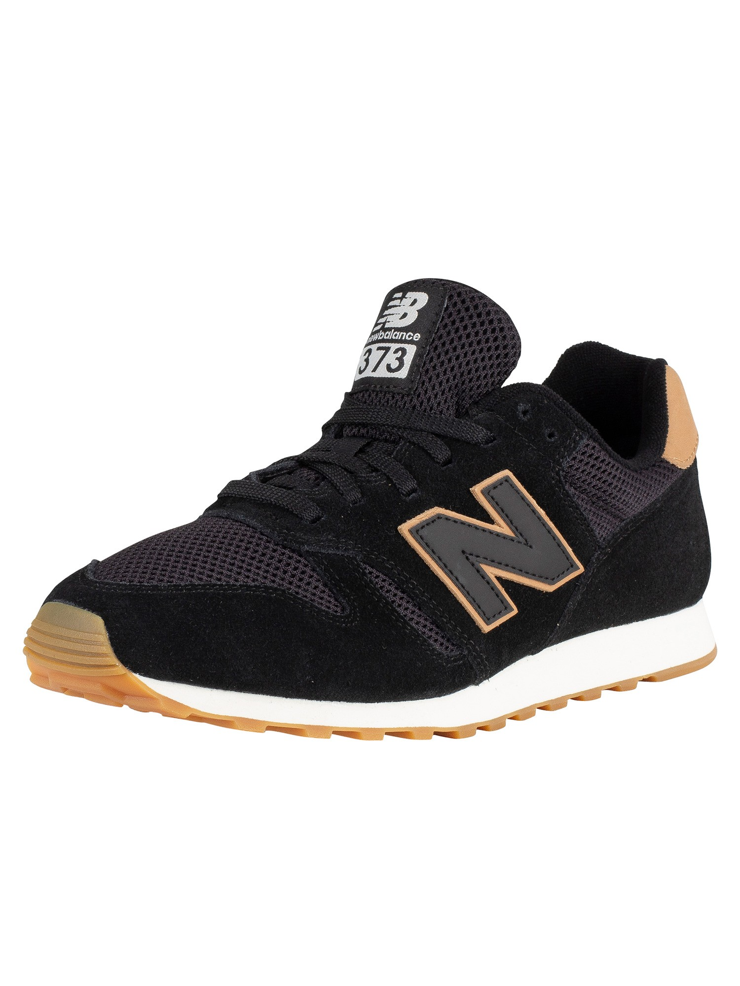 Image is loading New-Balance-Men-039-s-373-Suede-Trainers- dac29b091823f