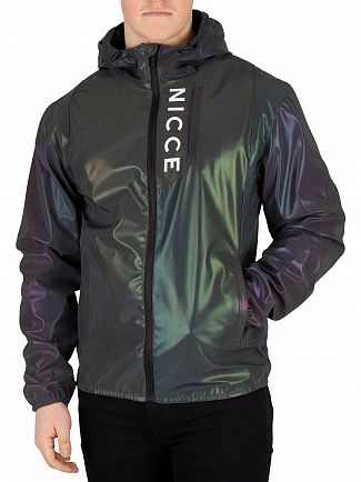 Nicce London Iridescent Vind Reflective Jacket