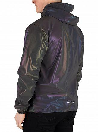 Nicce London Iridescent Vind Jacket