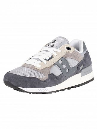Saucony Grey/Ebony Shadow 5000 Vintage Trainers