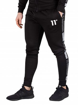 11 Degrees Black Optum Poly Joggers