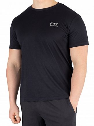 EA7 Night Blue Jersey T-Shirt