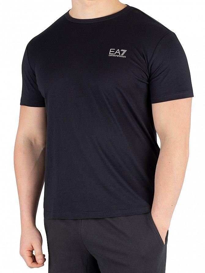 EA7 Night Blue Jersey T-Shirt
