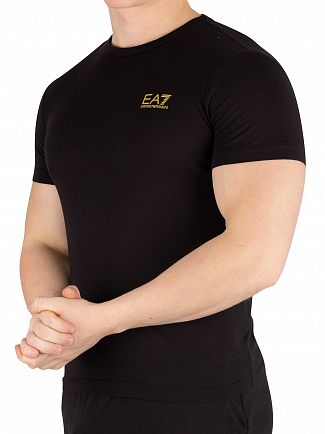 EA7 Black Jersey T-Shirt