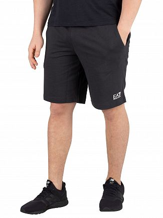 EA7 Night Blue Logo Sweatshorts