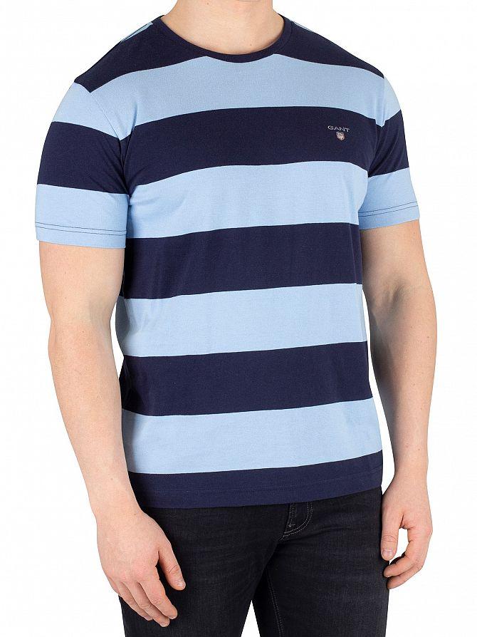 Gant Capri Blue The Original Barstripe T-Shirt