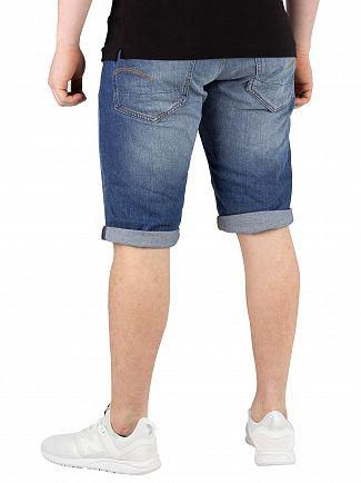 G-Star Medium Aged 3301 Denim Shorts