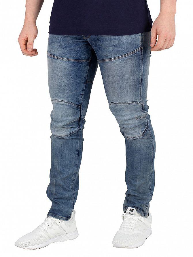 G-Star Medium Aged 5620 3D Skinny Jeans