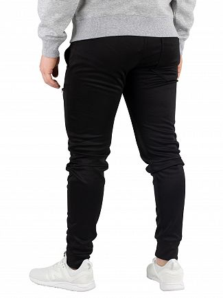 G-Star Dark Black Air Defence Zip 3D Slim Joggers