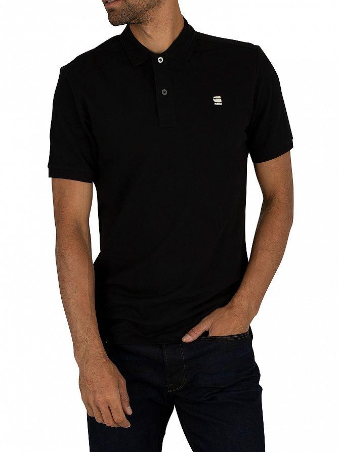 G-Star Dark Black Dunda Slim Polo Shirt
