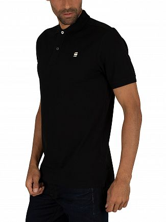 G-Star Dark Black Dunda Slim Polo Shirt
