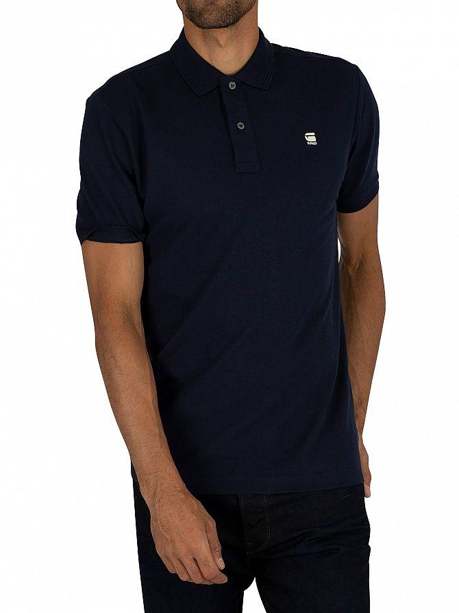 G-Star Sartho Blue Dunda Slim Polo Shirt