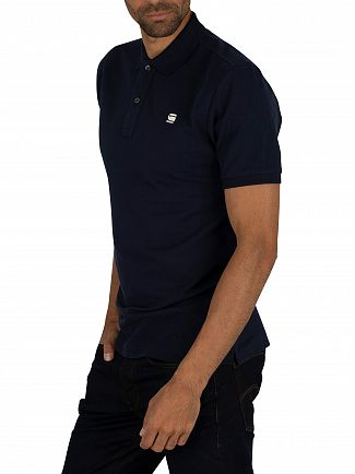 G-Star Sartho Blue Dunda Slim Polo Shirt