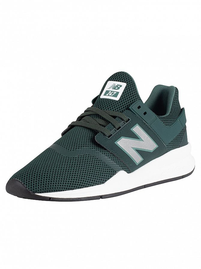New Balance Green 247 Mesh Trainers