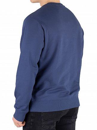 Timberland Dark Denim Cut And Sew Sweatshirt