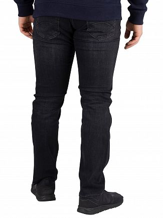 Tommy Jeans Vernon Black Stretch Scanton Slim Fit Jeans