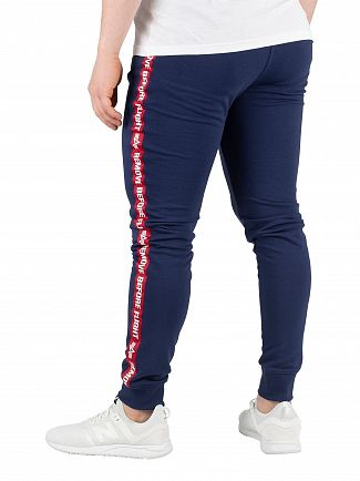 Alpha Industries New Navy RBF Tape Joggers