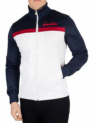 Diadora Blue Denim Track Jacket
