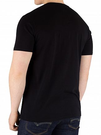Edwin Black Logo Chest T-Shirt