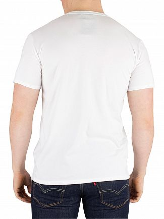 Edwin White Logo Chest T-Shirt