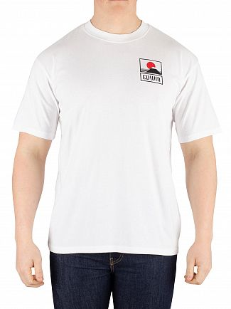 Edwin White Sunset On Mount Fuji T-Shirt