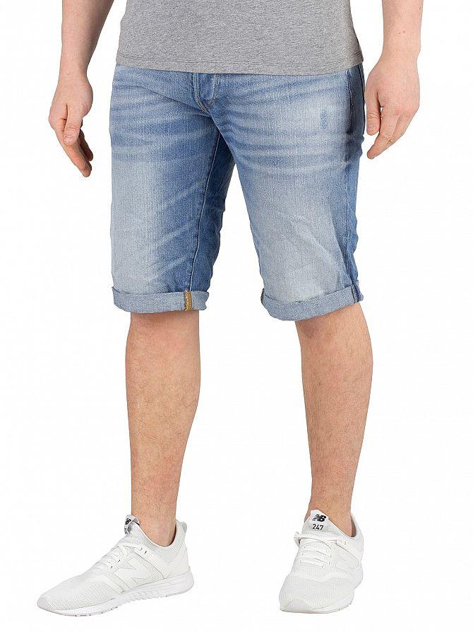 G-Star Light Aged 3301 Denim Shorts