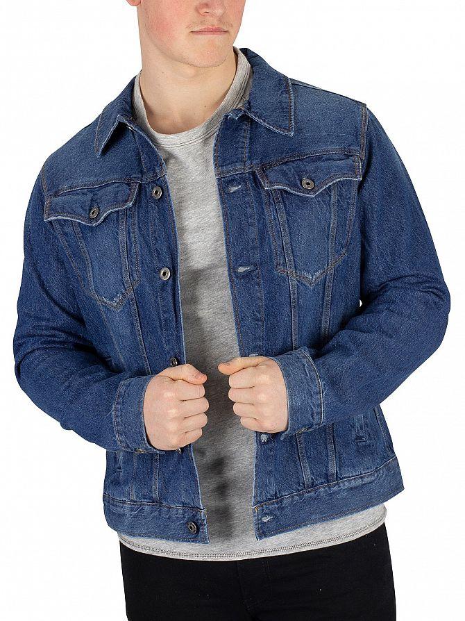 G-Star Medium Aged 3301 Slim Jacket