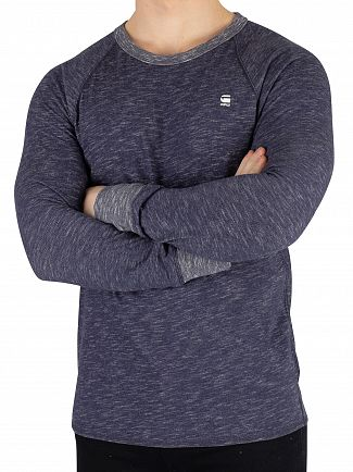 G-Star Sartho Blue Heather Jirgi Longsleeved T-Shirt