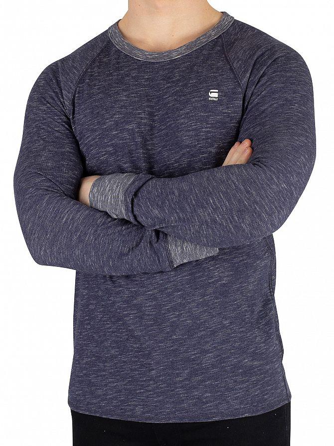 G-Star Sartho Blue Heather Jirgi Longsleeved T-Shirt