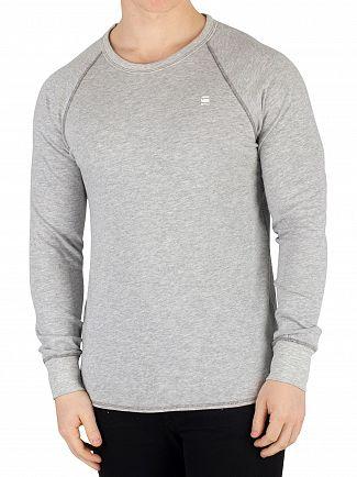 G-Star Grey Heather Jirgi Longsleeved T-Shirt
