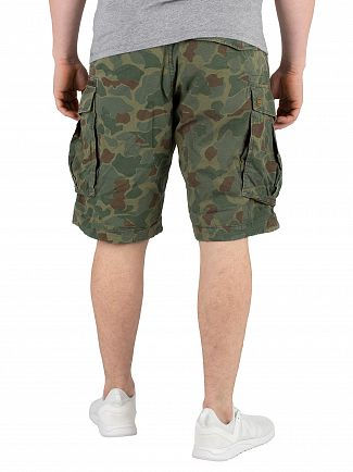 G-Star Sage/Battle Green Rovic Zip Relaxed Cargo Shorts