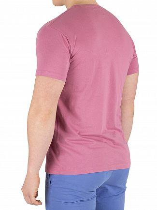 Hackett London Dusty Pink Classic Logo T-Shirt