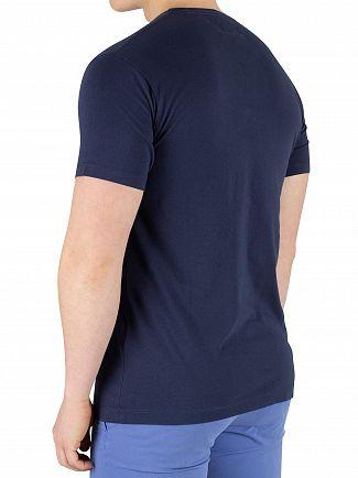 Hackett London Navy Classic Logo T-Shirt