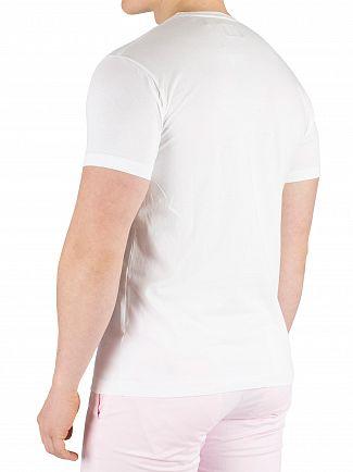 Hackett London White Classic Logo T-Shirt