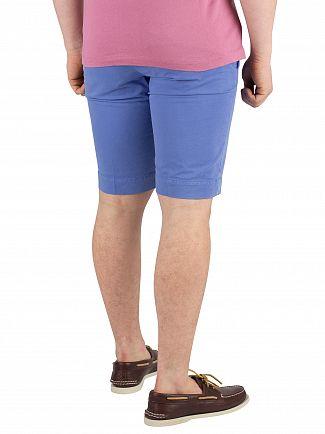 Hackett London Cornflower Core Kensington Slim Chino Shorts