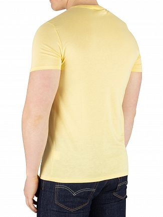 Lacoste Yellow Chest Logo T-Shirt