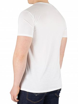 Lacoste White Chest Logo T-Shirt