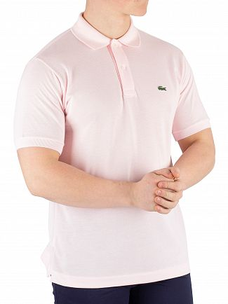 Lacoste Pink Classic Poloshirt