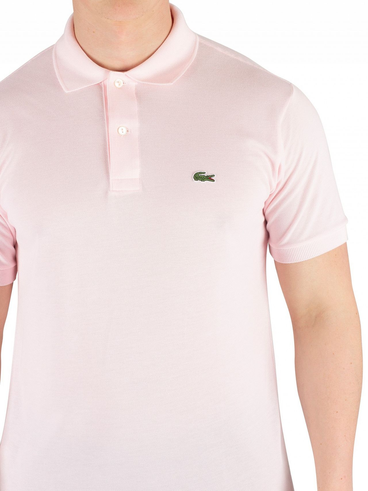16f8cb5f255 Lacoste Pink Classic Poloshirt | Standout