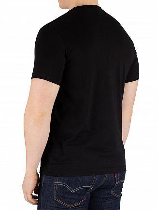 Psycho Bunny Black Classic Crew T-Shirt