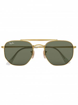 Ray-Ban Gold RB3648 Marshal Sunglasses