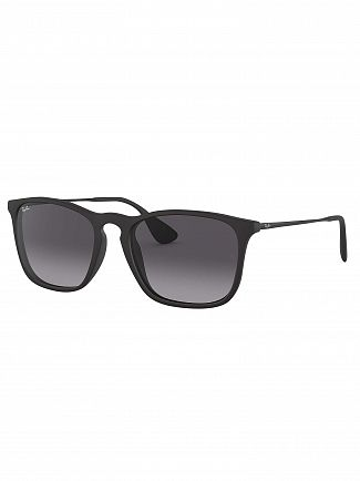 Ray-Ban Black RB4187 Chris Sunglasses