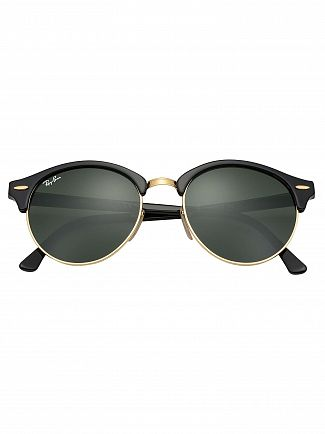 Ray-Ban Black RB4246 Clubround Sunglasses