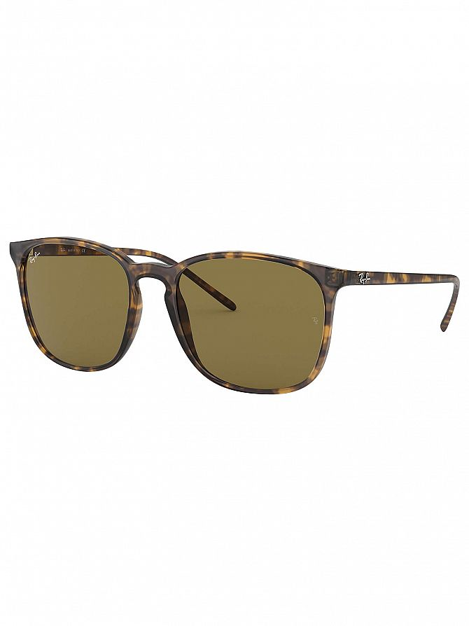 Ray-Ban Tortoise RB4387 Square Sunglasses