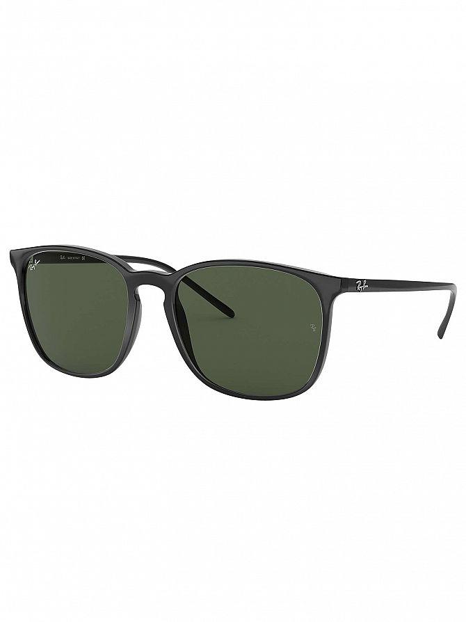 Ray-Ban Black RB4387 Square Sunglasses